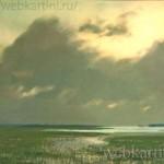 Морской пейзаж Картины Левитана