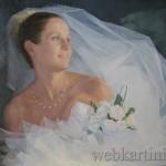 портрет Воронежской невесты