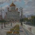 картина  Храм Христа Спасителя