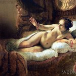 Рембранд, картина Даная