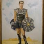 портрет в стиле легионер