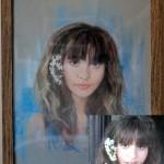 Портрет в технике пастель