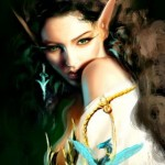 портрет эльфа