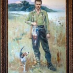 Портрет маслом, автор Дуленкова Н.