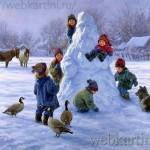 Зимние картины Роберта Дункана