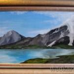 картина Горное озеро на Алтае