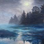 """Картина """"В лунном сиянье"""