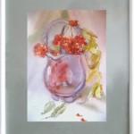 картина Рябина в вазе