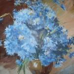 Первый  художник. Букет цветов