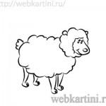 рисовуем овечку