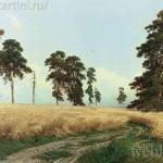 Рожь картина Ивана Шишкина