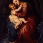 Тициан. Мадонна с младенцем