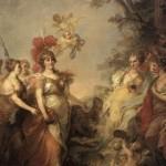 Екатерина в образе Минервы