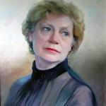 Портрет маслом, женский