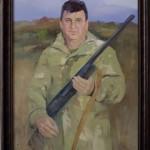 Портрет маслом, мужской