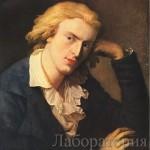 Портрет Фридрих Шиллер
