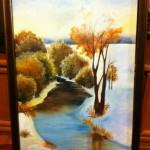 "Картина для продажи ""Осень и зима"""