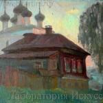 домик с церквушкой Воронеж