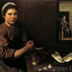 Парадный портрет Христос в доме Марии и Марфы
