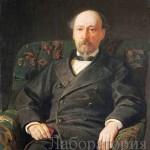 Портрет Некрасова, художник Николай Ге